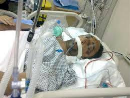 Archive image of Eskafi in hospital