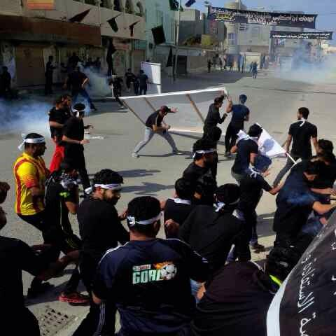 Attack on a procession in Nuwaidrat