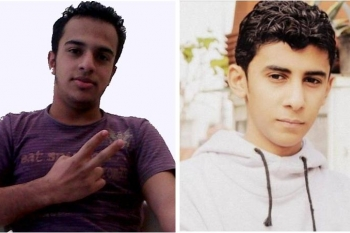 Left: Mustafa Al Muqdad (16), Right: Jehad Sadeq (16)