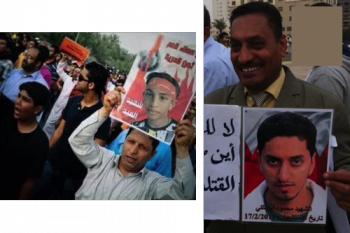 من اليمين: مكي أبوتاكي، جواد الشيخ
