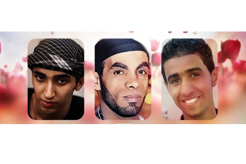 Left to Right: Ali Al-Singace, Sami Mushaima, Abbas Al-Samea