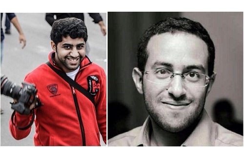اليمين: محمد حسن، اليسار: حسين حبيل