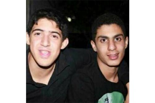 Left: DhaifAbdulnabi, Right: Nedhal Al Abbod