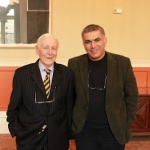 Nabeel Rajab with Lord Avebury