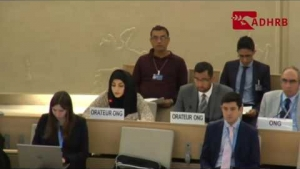 Asma Darwish's oral intervention @ HRC 33rd _ 27/09/2016