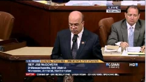Rep. Jim McGovern (D-MA) Discussing Bahrain Prisoner of Conscience Nabeel Rajab