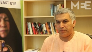 Nabeel Rajab discusses the continuing demonstrations in Bahrain
