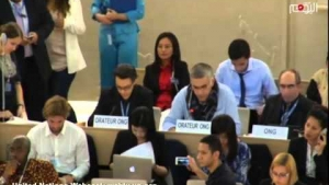 27th Regular Session Human Rights Council - NABEEL RAJAB
